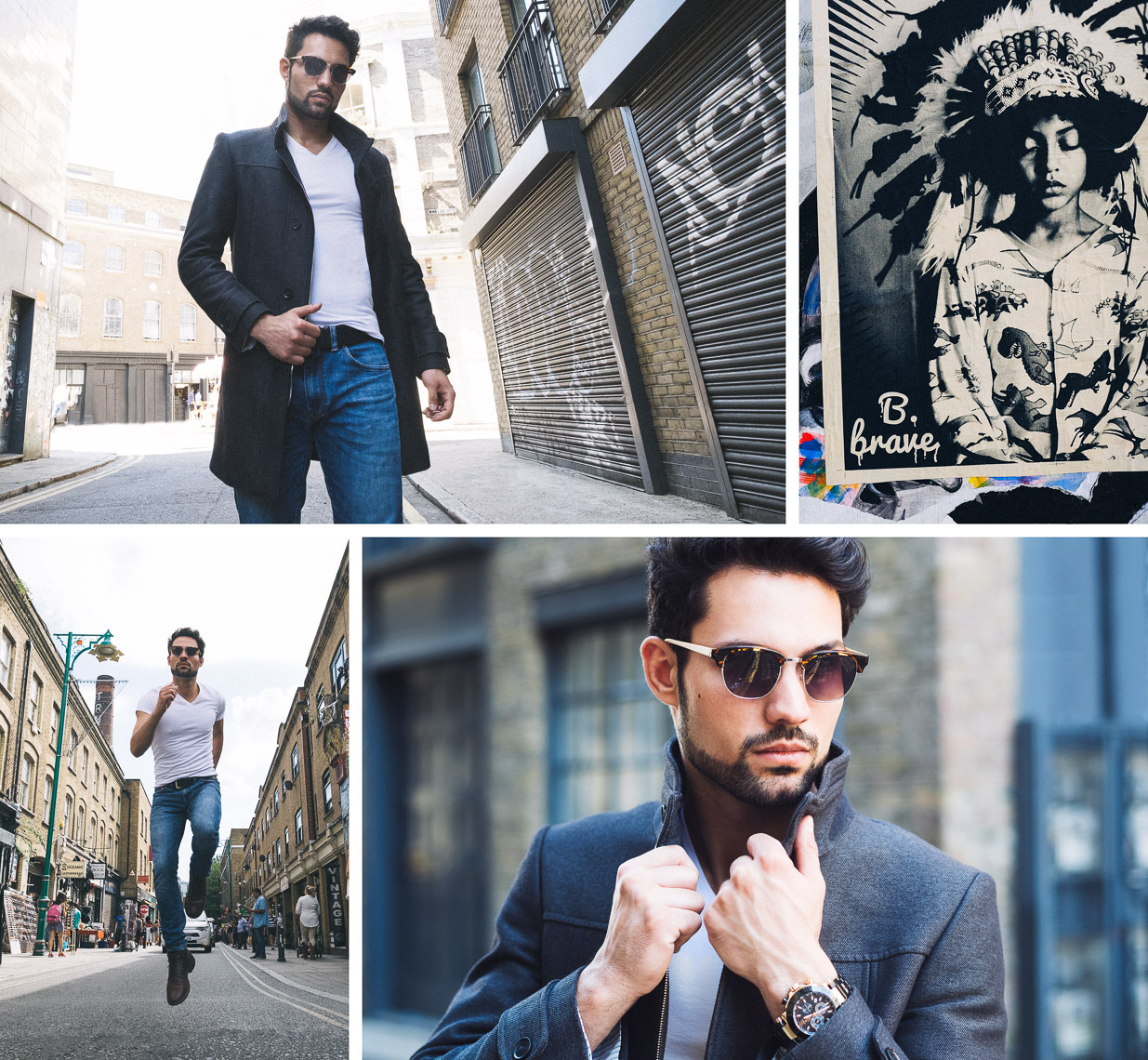 Mens fashion photography in London - LM1